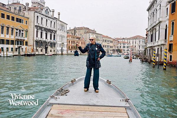 Vivienne in Venice
